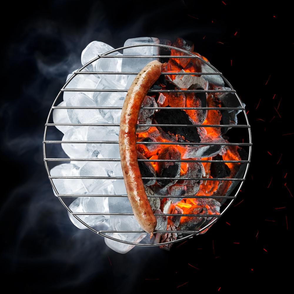 Eis2Grill Technologie, saftiges Grillen